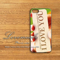 love you,ipod 5 case,Blackberry Z10 case,Q10,HTC ONE,iphone5,iphone 5C,iphone 5S case,ipod 4 case,ipod case,iphone 4 case,iphone 4S case,