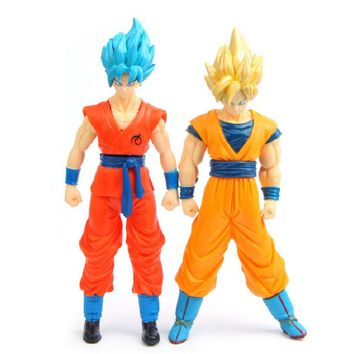 16CM Dragon Ball Action Figure Japan Anime Character Toy Dragon Ball Z Figurine Goku Vegeta Collectible Model 2018 New Year Gift