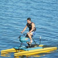 The Hydrocycle (Single Rider) - Hammacher Schlemmer