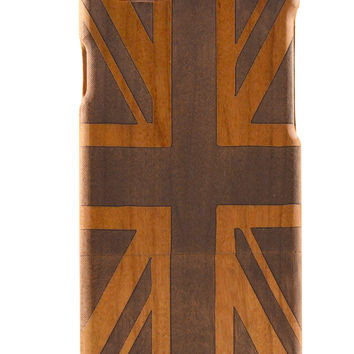 Wooden British Flag iPhone 6 Case