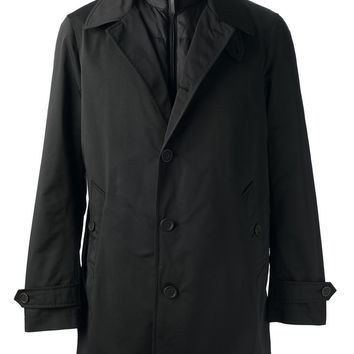 Burberry Brit padded layer trench coat