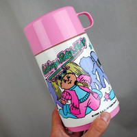 Vintage 1990 Cabbage Patch Kids Thermos  Aladdin by RogueRetro