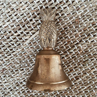 Vintage Brass Pineapple Bell