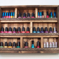 Nail Polish Organizer, Nail Polish Display Case