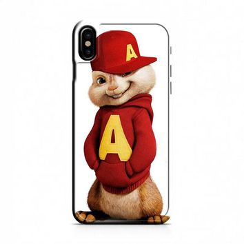 Alvin And The Chipmunks The Road Chip Movies Hat iPhone X Case