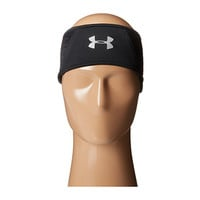 Under Armour UA Quilted Run Headband Black/Silver - Zappos.com Free Shipping BOTH Ways