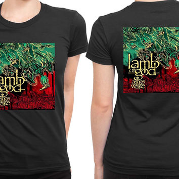 Lamb Of God Ashes Of The Wake Cover Album 2 Sided Womens T Shirt