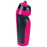 Buy Nike Sport Water Bottle, Pink/Black online at JohnLewis.com