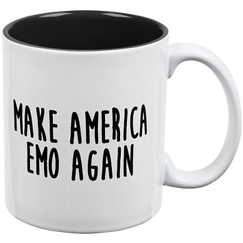 Make America Emo Again Rawr I Love You Dinosaur All Over Coffee Mug