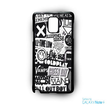 The XX Coldplay Arctic Monkey for Samsung Galaxy Note 2/Note 3/Note 4/Note 5/Note Edge phone case