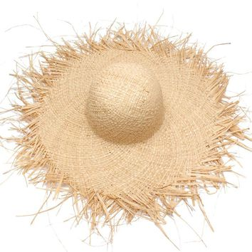 Women Wide Brim Raffia Straw Hats Ladies Fashion Large Summer Beach Hats Sun Cap Bone Chapeu Feminino