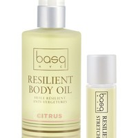 basq NYC Citrus Resilient Body Stretch Mark Oil Duo | Nordstrom
