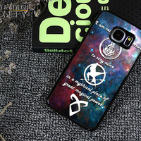 Divergent Mortal Instrument And Hunger Game Samsung Galaxy S6 Edge Plus Case|iPhonefy