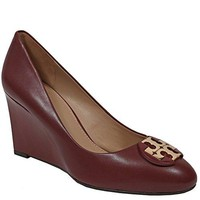 Tory Burch Luna 85mm Wedge Leather Shoes