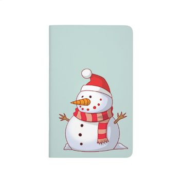 Cute Christmas Snowman Journal