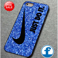 Nike Just Do It Glitter for iphone, ipod, samsung galaxy, HTC and Nexus Phone Case
