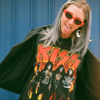 Vintage 1990s' KISS Tee - One Size Fits Many