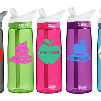 Teacher CamelBak 0.75 Eddy 20 ounce insulated Personalized Teaching Teacher Appreciation Gift Water Bottle Sports bottles water bottle Gift