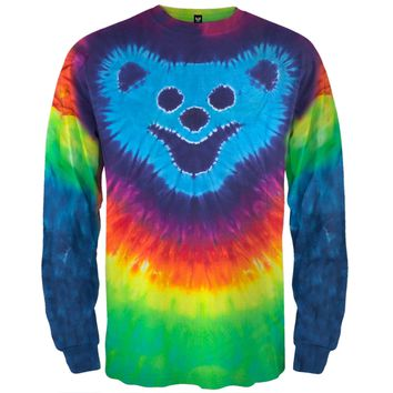 Bear Face Design I/S Tie Dye - Large