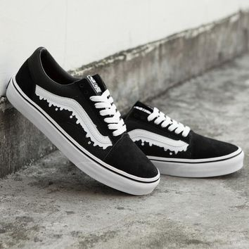 Trendsetter MxMxM x Vans Old Skool Canvas Flat Sneakers Sport Shoes