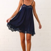 HelloMolly | Kiss You Dress Navy
