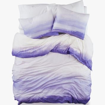 Endless Purple Cotton Duvet