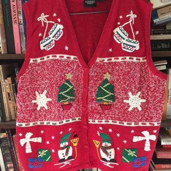 Christmas Sweater Vest