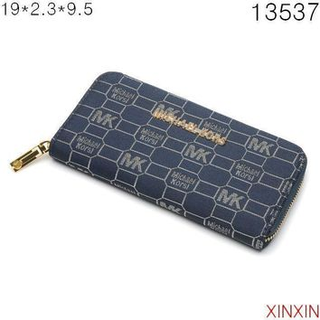MICHAEL KORS Women Zipper Wallet Purse