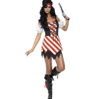 DCCK0OQ Halloween Pirate Costume [8978902279]