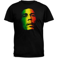 Bob Marley - Tri-Color Face T-Shirt