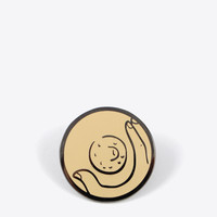 Touch Me Here Pin