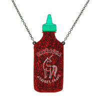 Unicorn Sauce Sriracha Necklace