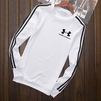 Under Armour Fashion Print Cotton Long Sleeve Sweater Pullover Sweatshirt