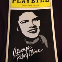 Always Patsy Cline Playbill