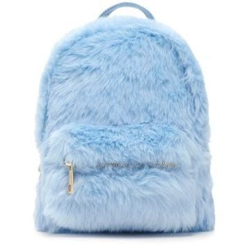 Forever21 Faux Fur Mini Backpack