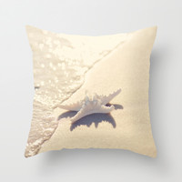 Sunlight Starfish Throw Pillow by Erin Johnson | Society6