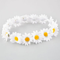 FULL TILT Daisy Flower Crown | Hair Accessories