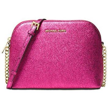 MICHAEL Michael Kors Large Dome Metallic Crossbody Michael Kors bag