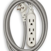 HABITAT | 8ft. Habitat Braided Extension Cord - Tungsten | Nordstrom Rack