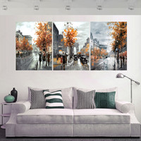 3 Piece Modern Picture Cuadros Decoracion Canvas Oil Painting Art Pictures  No Frame