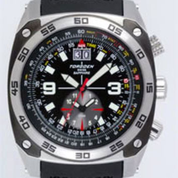 Torgoen T7 Flight Computer Pilot Watch T07301