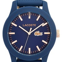 Men's Lacoste '12.12' Watch, 43mm - Navy