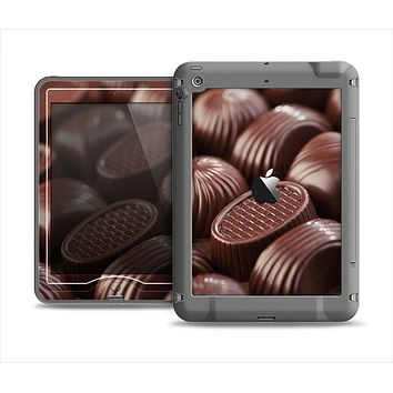 The Chocolate Delish Apple iPad Mini LifeProof Nuud Case Skin Set