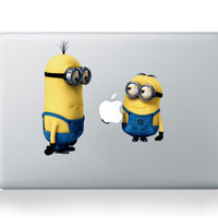 Cartoon for Macbook sticker Minion For Mac Sticker For Macbook 13 Pro Air Laptop Cover Skin For Macbook Pro Decal Air