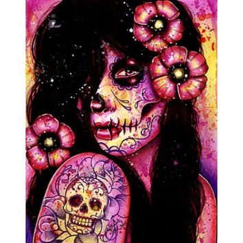 Sugar Skull 1000 Piece Jigsaw Puzzle From