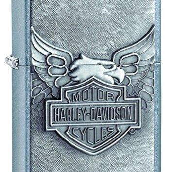 Zippo Harley-Davidson Eagle Wings Pocket Lighter