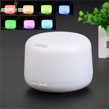 300ml aroma diffuser Changeable LED Light Essential Oil Aroma Diffuser electric aroma diffuser Air Purifiers Home Appliances