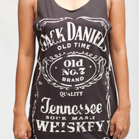 Jack Daniels Shirt Jack Daniel's Top Tennessee Whiskey Women Tank Top Black Shirts Tunic Top Vest Singlet Women T-Shirt Size S M
