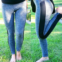 TALKING BODY ACTIVE PANTS IN GREY
