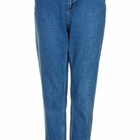 MOTO Vintage High Waisted Jeans - Mid Stone